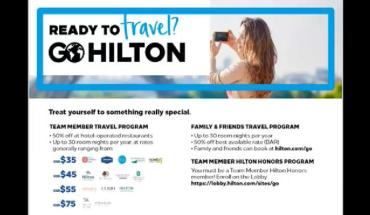 How To Set Up Your Go Hilton Travel Benefits